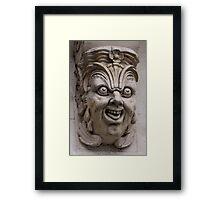 Paris gargoyle Framed Print