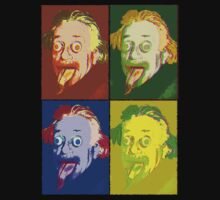 Crazy Einstein (Andy Warhol Version) by YabuloStore919
