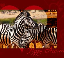 Anniversary Love in black and white by Owed to Nature
