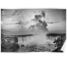 Niagara Falls Close  Poster