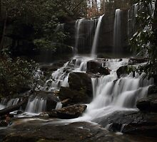 Virginia Hawkins falls by DHParsons