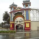 A portrait of Luna Park by Suzanne Newbury