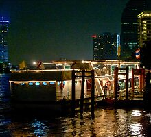 Dock Side Dinner Cruiser by phil decocco