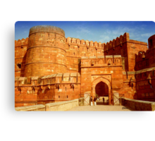 Entrance to The Red Fort - Agra Canvas Print
