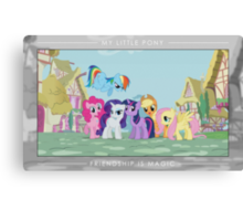 Friendship is Magic - Group Photo Canvas Print