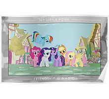 Friendship is Magic - Group Photo Poster