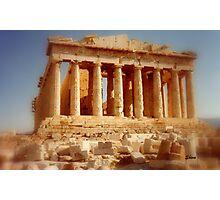 The Parthenon at the Acropolis Photographic Print