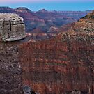 A grand canyon view by Ted Petrovits