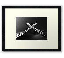 Forks! Framed Print
