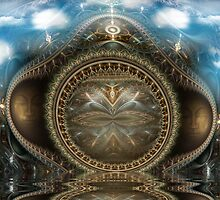 The Time Benders' Portal by Craig Hitchens - Spiritual Digital Art