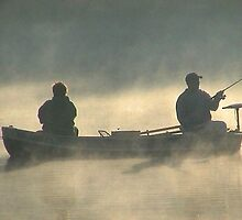 Anglers in the Mist  by ReneeW