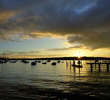 Sunset Watsons Bay, NSW, Australia by Samantha  Goode
