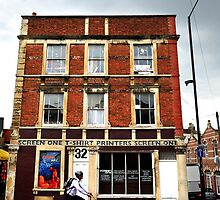 The old print shop by MWhitham