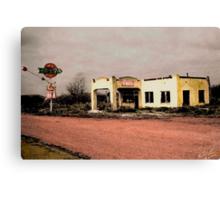West Texas Diner Canvas Print