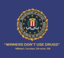 Arcade Winners Dont Use Drugs by evilwallpaper