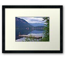 Lake Mara (2) Framed Print