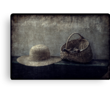 Her Things Canvas Print