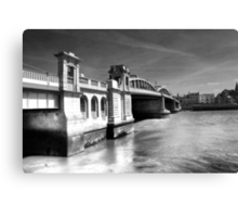 Rochester Bridge (infra red) Canvas Print