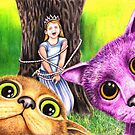 """""""Pay the ransom, or the Princess gets it!"""" 344 views as at 5th Nov 2011 by Margaret Sanderson"""