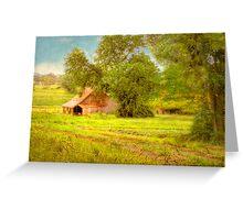 The Barn - Beerenberg, Hahndorf, The Adelaide Hills, SA Greeting Card
