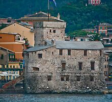 Castle Fort, Rapallo, Italy by phil decocco