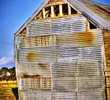 Corrugated Shed by stevebrownd50