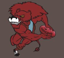 Red Lion Logo - circa 2000 by jakalbastich