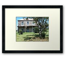 Derelict house - as seen on TV Framed Print