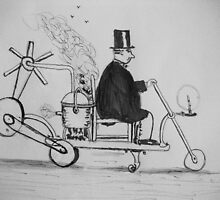 Edwardian Mobility Scooter by GEORGE SANDERSON