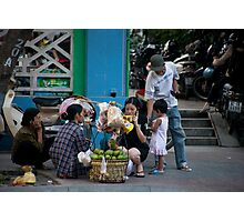 Street Family Photographic Print