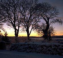 Snowy sunrise, Beara by CliveOnBeara