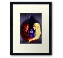 Daughters of the Wind Framed Print