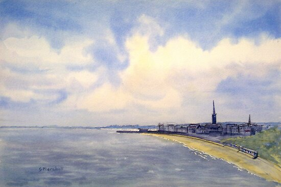 Bridlington - 'Plein Air' by Glenn Marshall