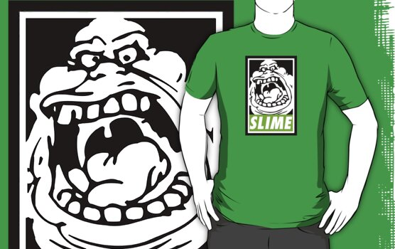 Obey Slimer by mcnasty