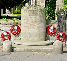 War Memorial, Repton by Rod Johnson