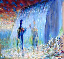 waterfall by Matthew Scotland