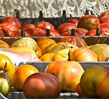 Farmer's Market Tomatoes by phil decocco