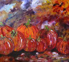 Pumpkins by Elena Lizardo