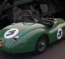 52 Jag Historic Racer by WildBillPho