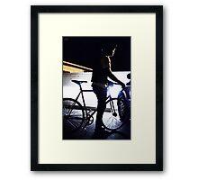 light frame Framed Print