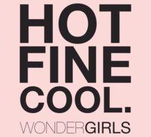 Wonder Girls - HOT, FINE, COOL by SFKL