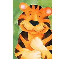 Kiddies Tiger Photographic Print