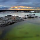 North Curl Curl Baths by Mark  Lucey
