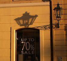 Streetlamp and Shadow, Prague by SerenaB