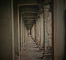 Inside Angkor Wat by GayeL Art