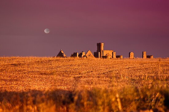 New Slains Castle at Sunset - Cruden Bay - Aberdeenshire - Scotland by Yannik Hay