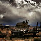Fort Rock Ghost Town by Charles &amp; Patricia   Harkins ~ Picture Oregon