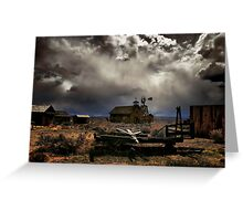 Fort Rock Ghost Town Greeting Card