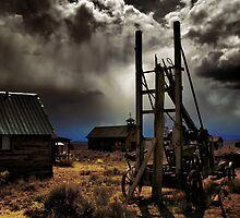 Fort Rock Ghost Town #2 by Charles & Patricia   Harkins ~ Picture Oregon