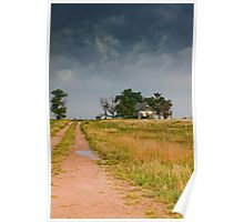 Abandoned Farms & Thunderstorms Poster